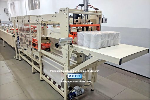 toilet paper packaging machine